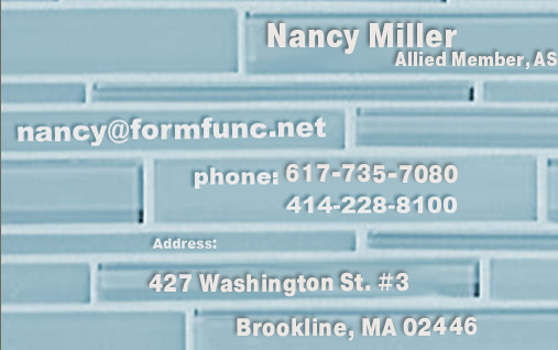 Nancy Miller@formfunc.net